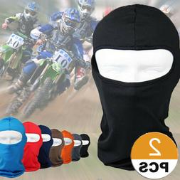 1/2 Balaclava Cooling Thin Helmet Liner UV Protection Motorc