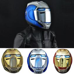 1:6 Scale Men's Motorcycle Helmet For 12'' Sideshow Star War