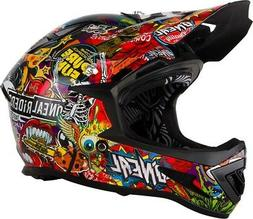 2019 O'Neal Adult Warp Crank Bicycle Full Face Helmet Mounta