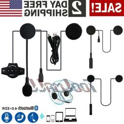 A Pair Bluetooth Motorcycle Helmet Intercom BT8 Interphone F