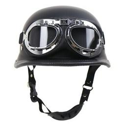 Adult Motorcycle Motorbike Half Helmet Bike Scooter Helmets