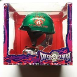 Toy Zone Bike Lidz Die-Cast Collectible Green Helmet - Arlen