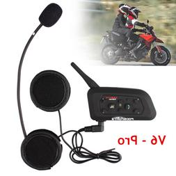 Bluetooth Intercom Motorcycle Helmet Communication System BT