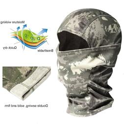 Camo Face Mask Hunting Tactical Balaclava Motorcycle Helmet