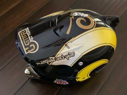 CUSTOM TROY LEE DESIGNS RAMS SUPER BOWL MOTOCROSS MOTORCYCLE