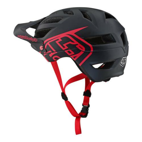 Troy Drone Red/Black Mountain Bike Helmet - All Sizes