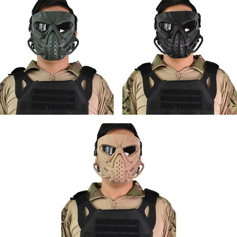 Airsoft Tactical Mask Motorcycle Helmet