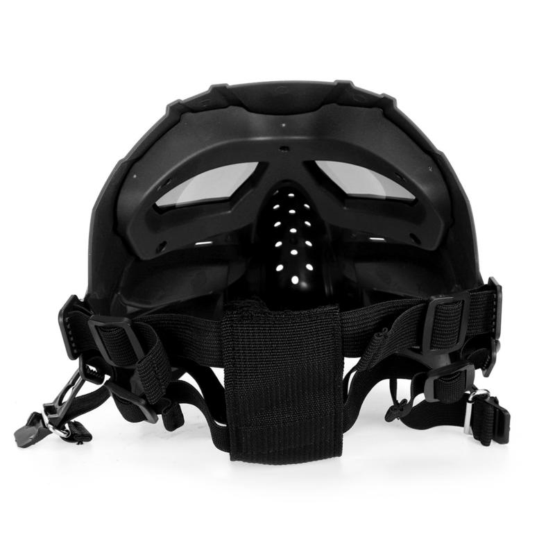 Airsoft Paintball Mask Motorcycle Helmet