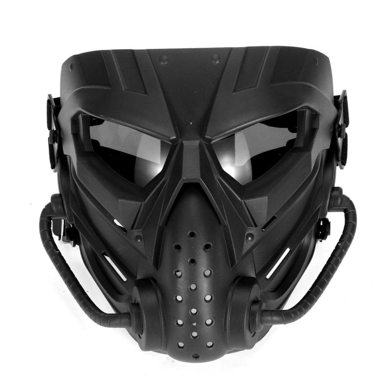 airsoft paintball hunting mask tactical combat full