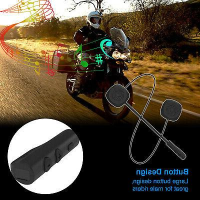 Motorcycle Scooter Headset Wireless 5.0 Free Headphones