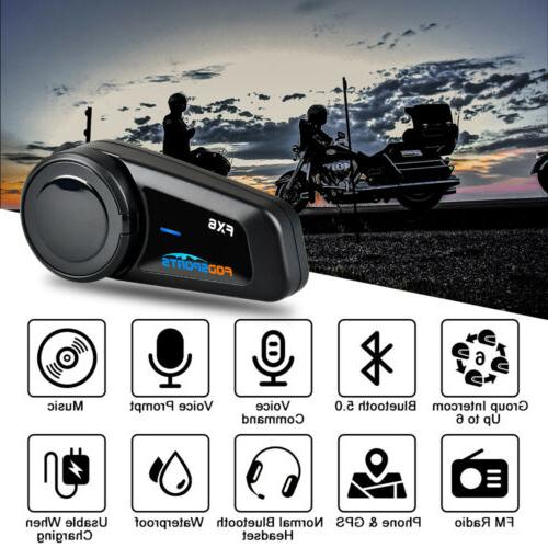 FX6 Motorcycle Headset riders