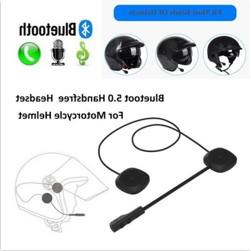 Helmet Stereo Earbuds Wireless Bluetooth for Motorcycle