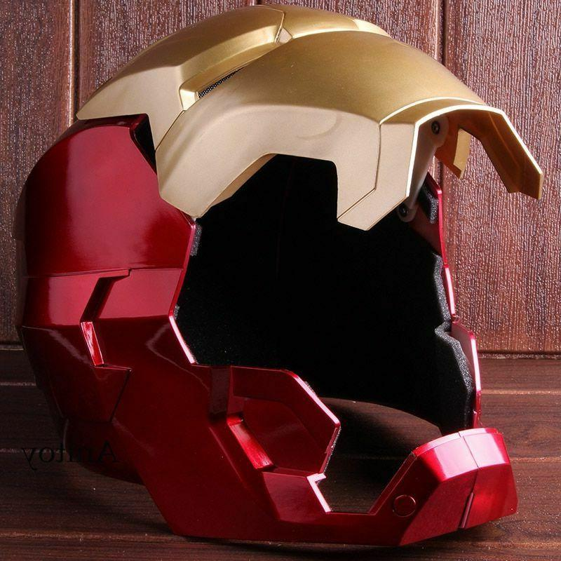 Iron Man Cosplay Adult Touch Sensing Mask LED
