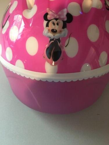 Minnie Mouse Helmet Bicycle 3D Ears Toddler Safety Ride Ages
