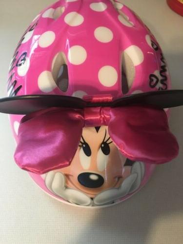 minnie mouse helmet bike bicycle 3d bow