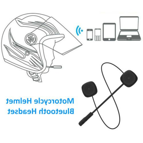 Helmet Headset Stereo Dual Earbuds Wireless Bluetooth for Mo