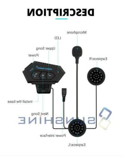 Motorcycle Bluetooth w/