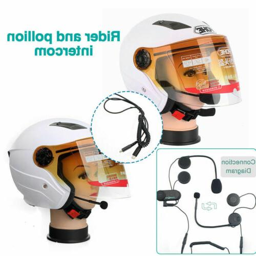 Motorcycle Rider to Communication Interphone