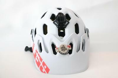 New Bell MIPS Small Matte White Blue Sonic MTB XC