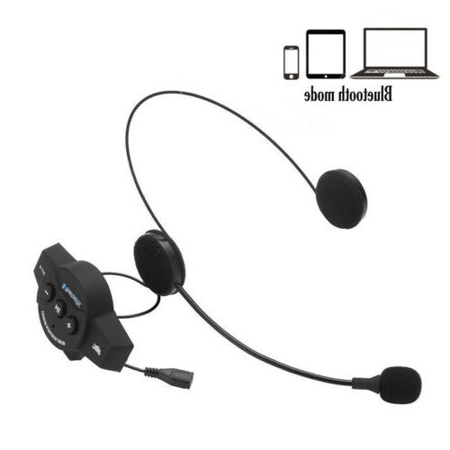Rechargeable Wireless Headset Mic