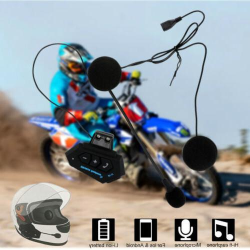 Universal Wireless Helmet Headset Call