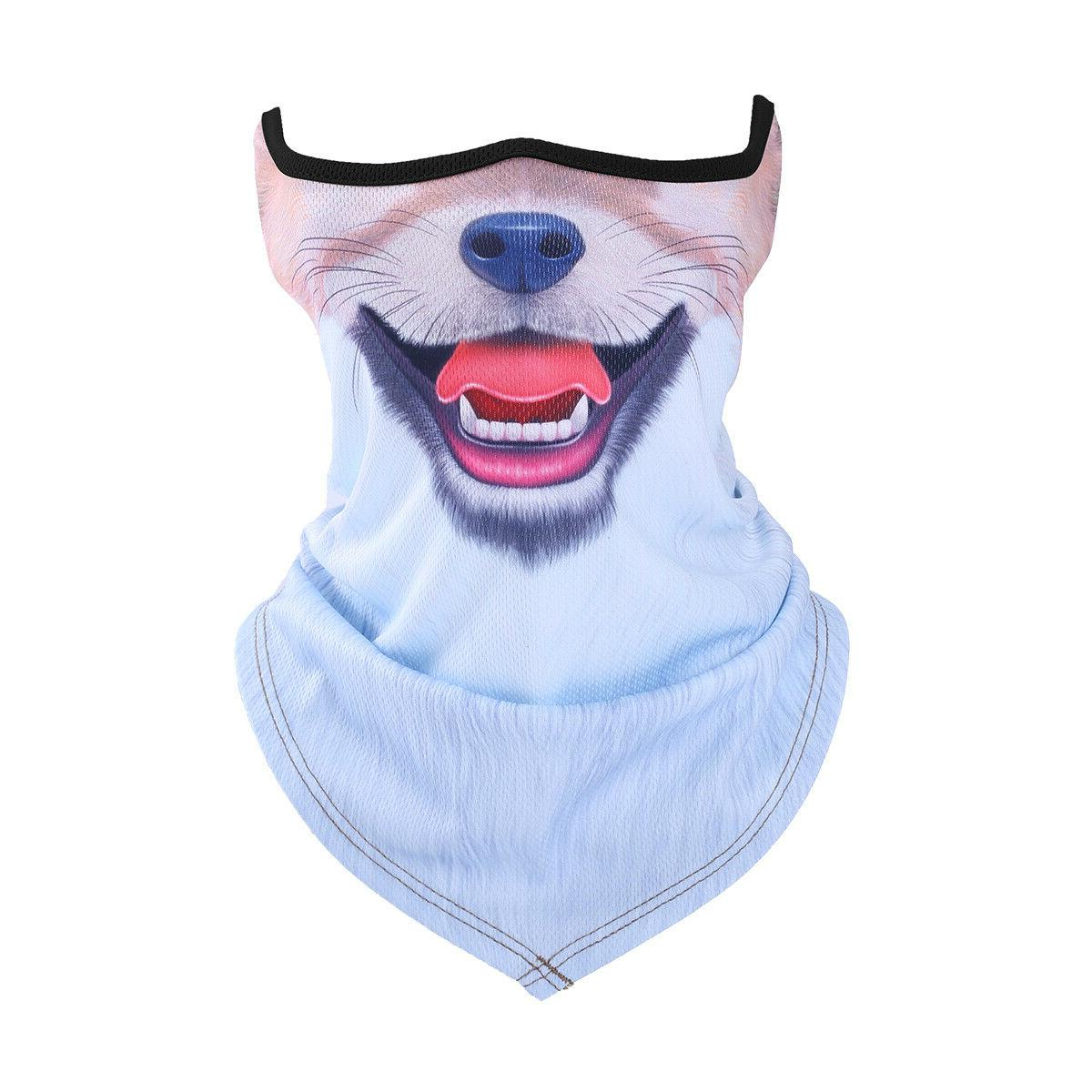 Summer Half Face Cycling Motorcycle Helmet Windproof Scarf