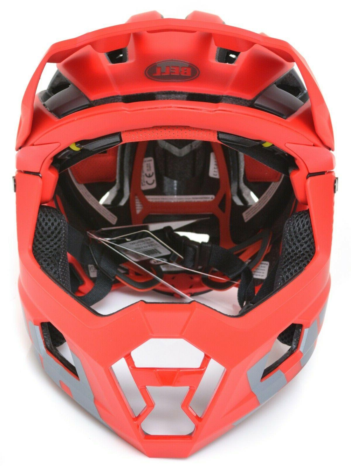 Bell MIPS Red Enduro