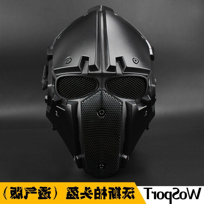 tactical motorcycle helmet full face protective breathable