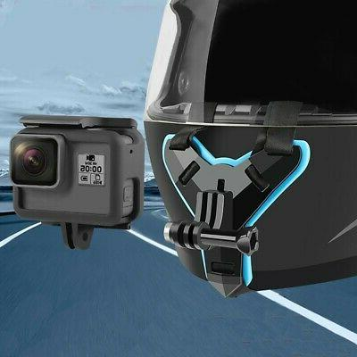 For Go Pro Hero6/5/4 XiaoYi Action Camera Motorcycle Helmet