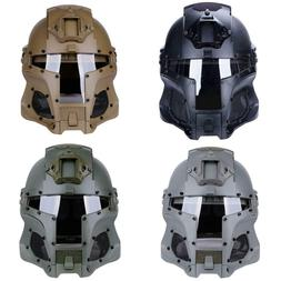 New Tactical Retro Medieval Iron Warrior Motorcycle Airsoft