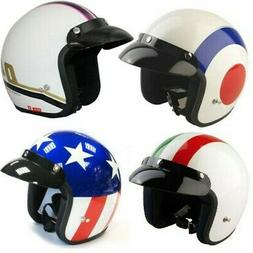 VIPER RS-04 OPEN FACE SCOOTER MOTORCYCLE RETRO HELMET MOD MO