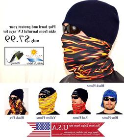 Scarf Cycling Bike Helmet Liner Neck Wind Protection SPF 30