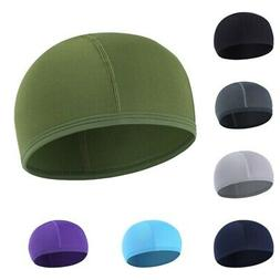Mens Quick Drying Hat Cycling Skull Cap Bike Motorbike Under