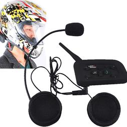 VNETPHONE V6-1200 Motorcycle Helmet Interphone Bluetooth Hea